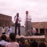 Pastor Dave Preaching in Kenya. - 2011